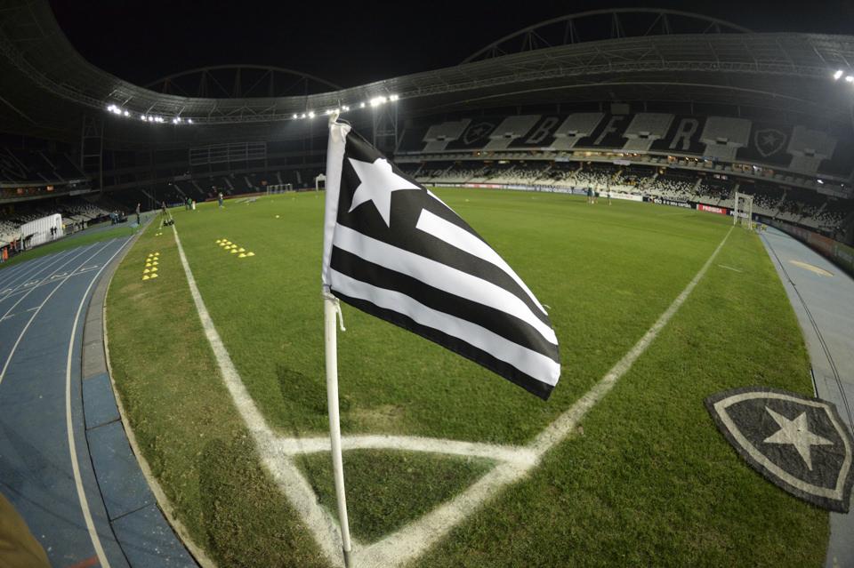 Bandeira Botafogo Corner Engenhão