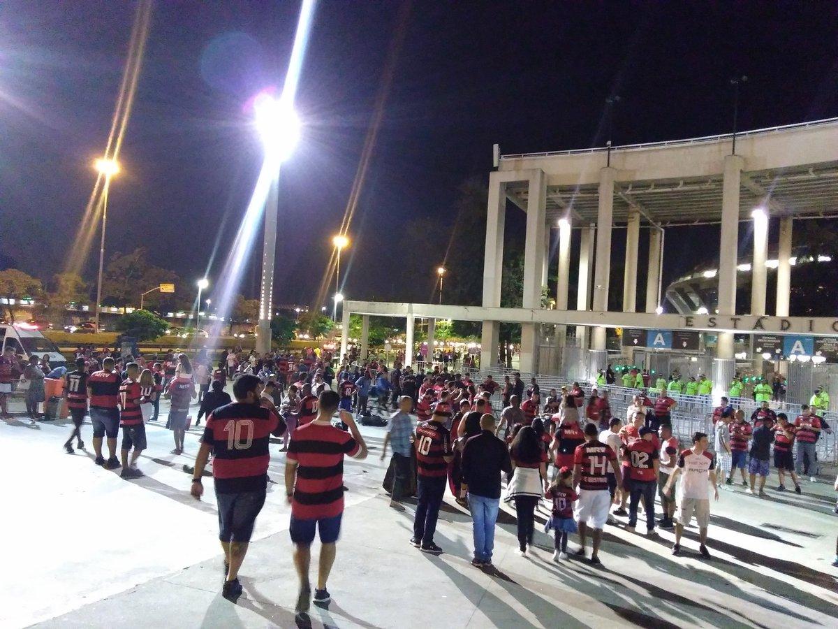 Entorno do Maracanã FlaXCru