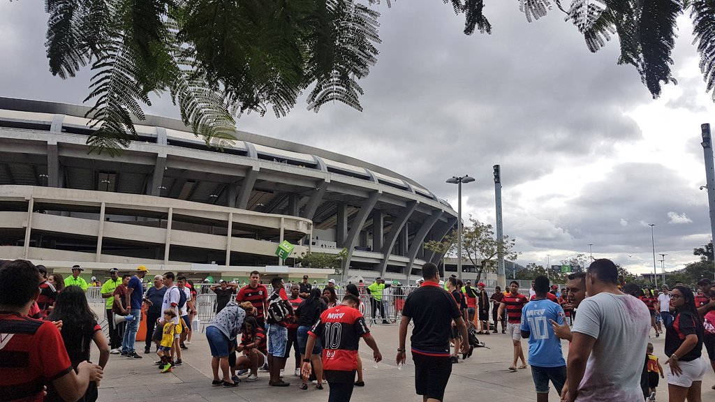 Entorno do Maracanã - FlaXCru