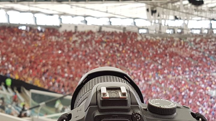Torcida Maracanã Flamengo X Cruzeiro