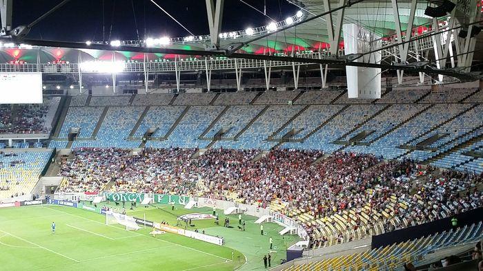 Torcida Maracanã Fluminense X Internacional Brasileirão 2018